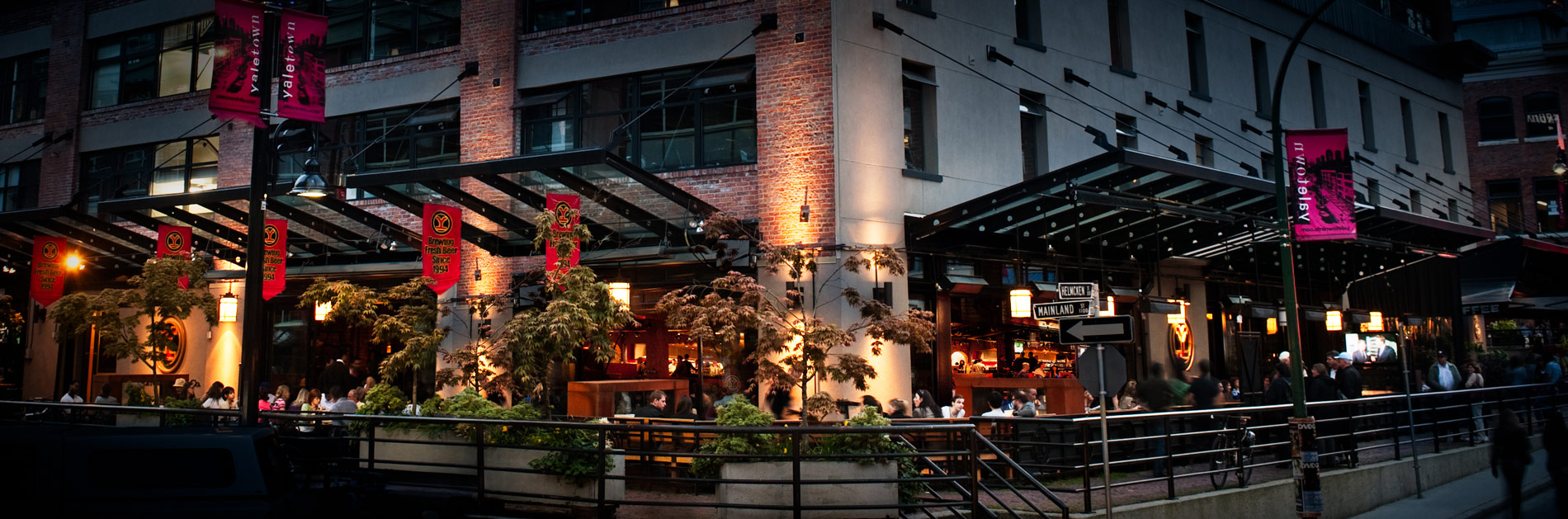 Yaletown Vancouver Brewery Restaurants